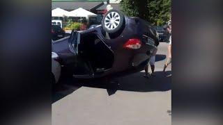 На Кочерги у Житомирі перевернулася Toyota - Житомир.info