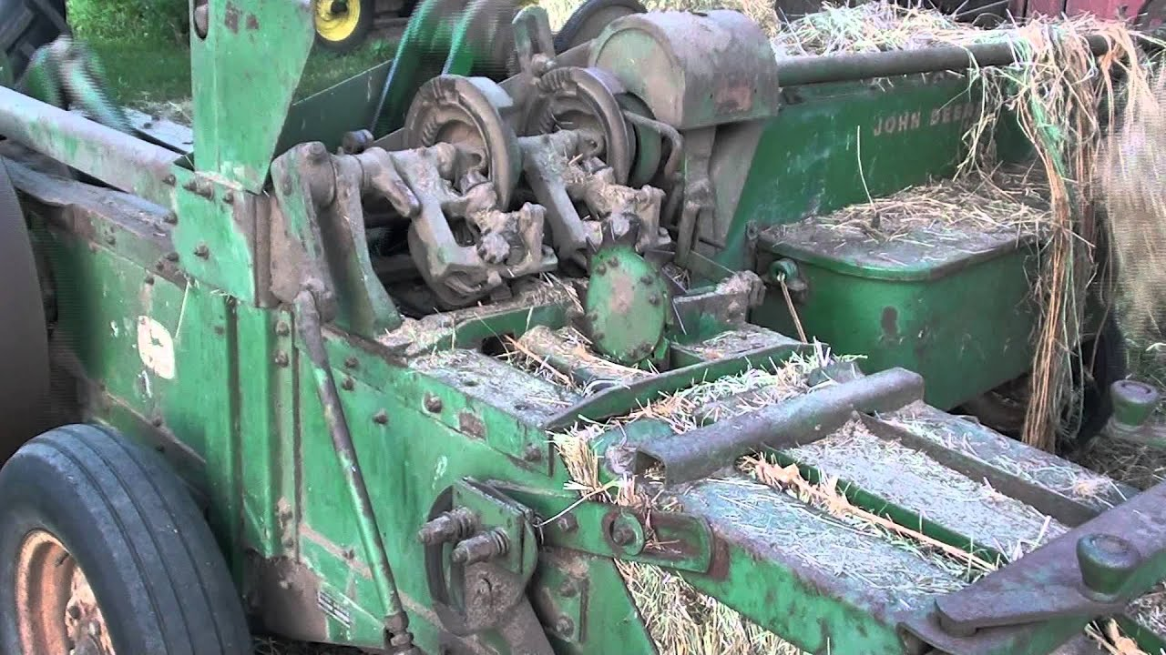 SOLVED: How to get the john deere 336 baler to tie the - Fixya