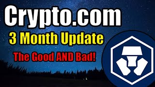 Crypto.com What I Like and What I Dislike   3 Month Update   Cryptocurrency News   Product Review