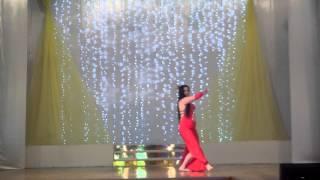 Ksenia (Assal) bellydancer, Russia, Ala fekra - Wael kfoury