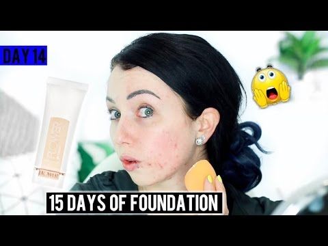 Full Coverage?! FLOWER BEAUTY BB CREAM {First Impression Review & Demo!} 15 DAYS OF FOUNDATION