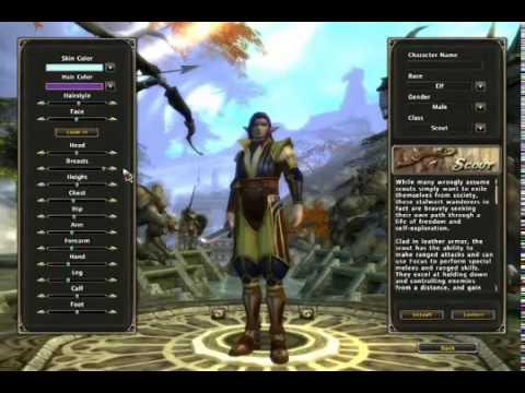 Runes Of Magic - Character Creation