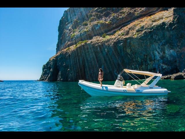 Pantelleria Meravigliosa vista dal cielo con il Drone