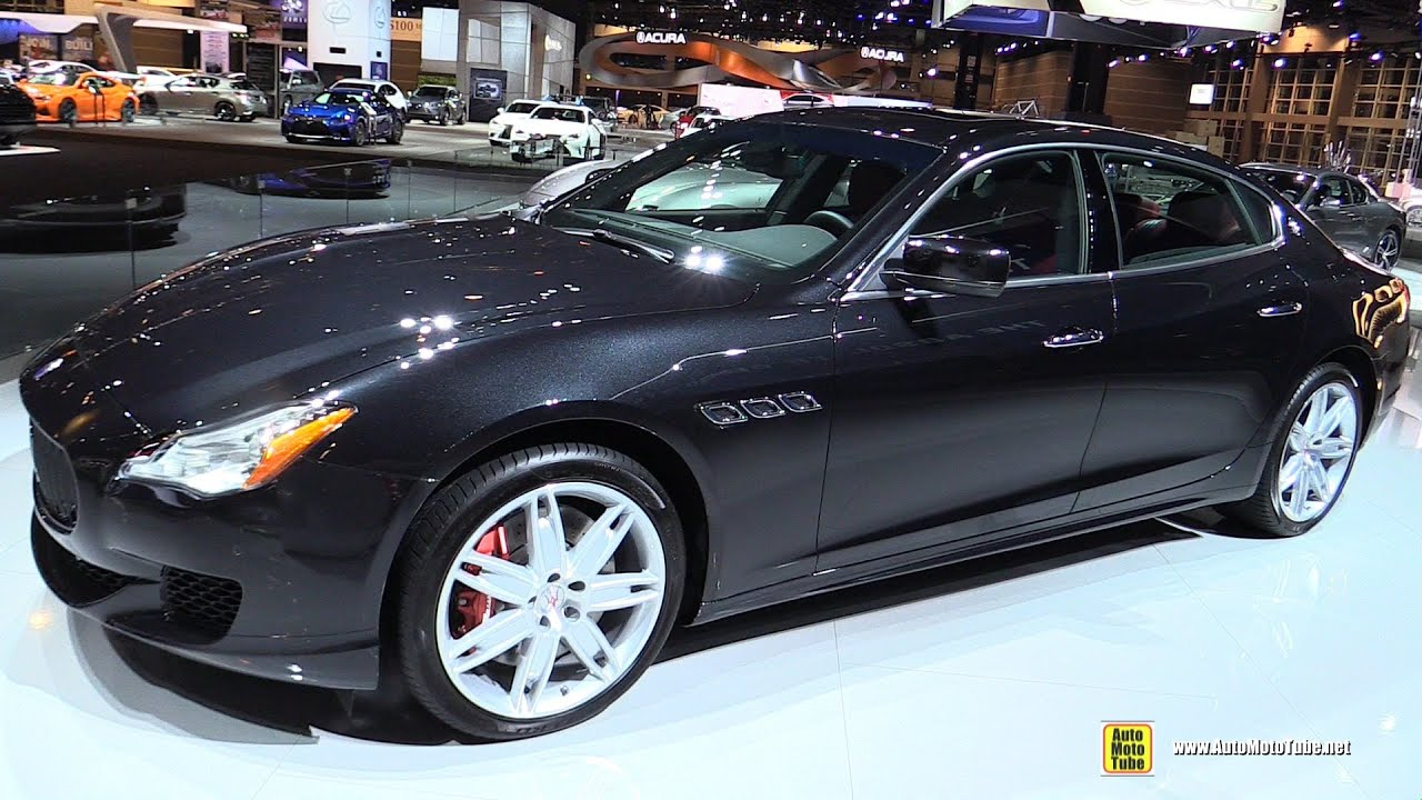 2016 maserati quattroporte gts exterior interior. Black Bedroom Furniture Sets. Home Design Ideas