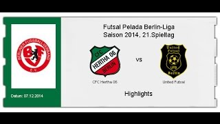CFC Hertha 06 - United Futsal (Highlights)