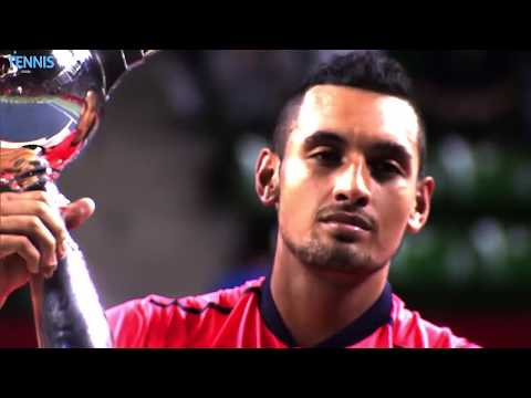 Tweeners and a trophy: Nick Kyrgios' best moments from Tokyo 2016