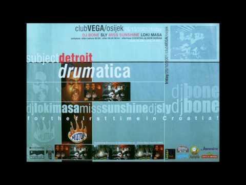 Dj Bone - Live @ Drumatica (Club Vega, Osijek, Croatia, 26.10.2001.)