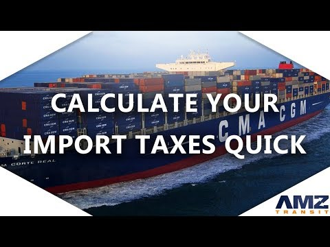 Amazon Sellers: Find Your HS Code & Calculate Import Tax / Duty