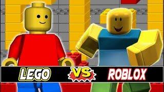 M.U.G.E.N. Battles | Regular Plan Lego vs Newbie | Lego vs Roblox