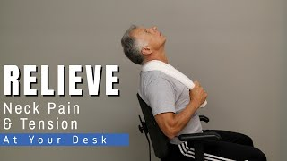 Best Physio Routine to Relieve Neck Pain & Tension at Your Desk