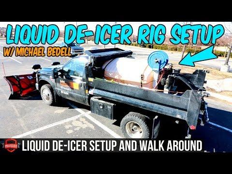 BPM's Liquid De-Icer Rig Setup - Michael Bedell's F-350 Set Up For Liquid + Full Walk Around