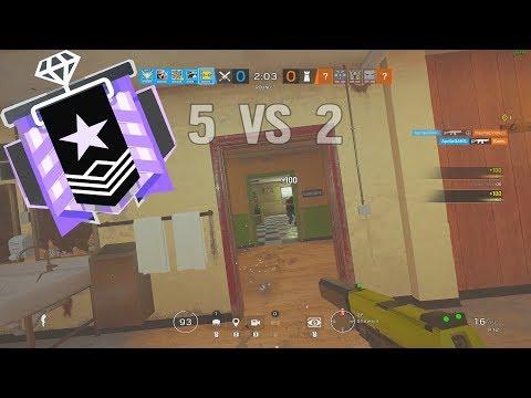 When Diamond Ranked is Boring - Rainbow Six Siege