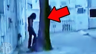 10 Scary Videos Caught In Graveyards