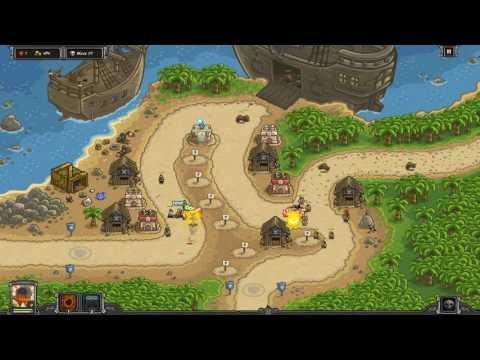 Buccaneer's Den - Veteran Iron Challenge - Kingdom Rush Frontiers |