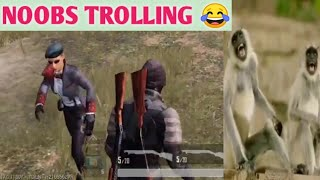 ONLY NOOBS TROLLING IN PUBG GAME PLAY