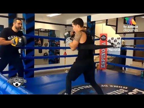 Oscar Valdez Entrenando Para Su Próximo Combate Ante El Británico Scott Quigg