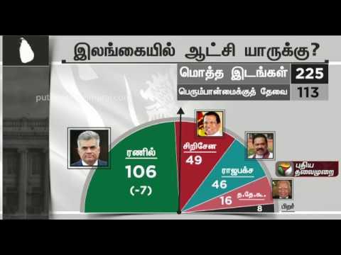 இலங்கையில் ஆட்சி யாருக்கு? #SriLanka