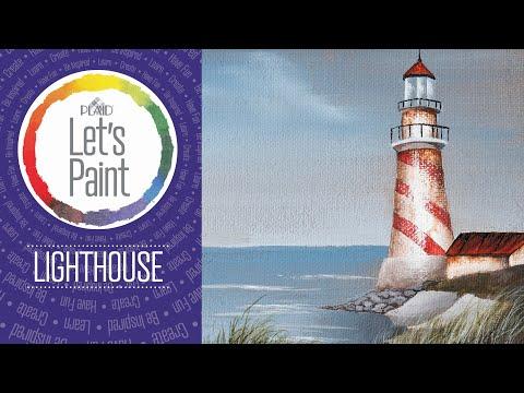 FolkArt Studio Series – Lighthouse
