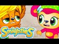 Smighties - Incredible Rescue from Sick Chicken Pox Castle | Cartoons for Kids | Funny Kids Cartoons