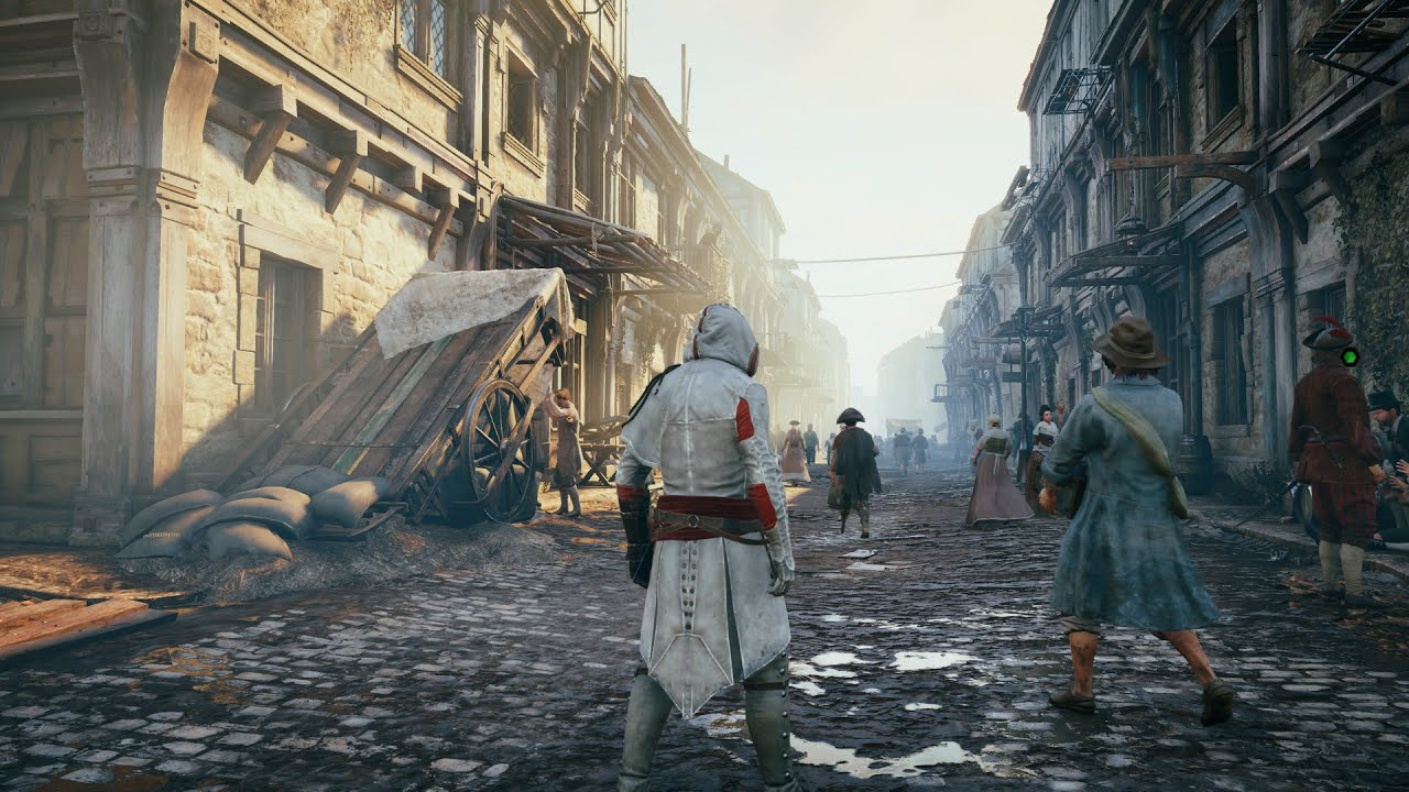 Assassin S Creed Unity 1080p 60fps Ultra Pc Gameplay Patch 5