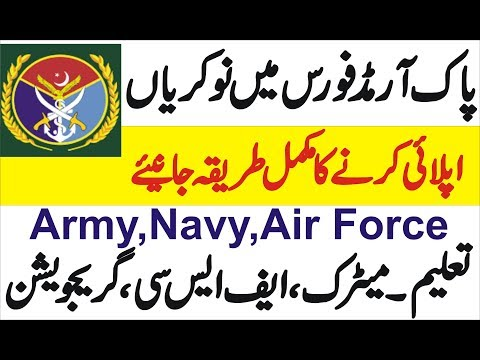 Armed Forces Army Navy Paf Jobs AFIT 2019 Apply Online Uts Universal Testing Services