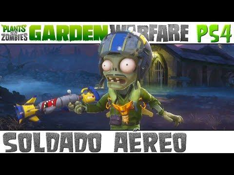 Plants vs. Zombies Garden Warfare - Soldado Aéreo