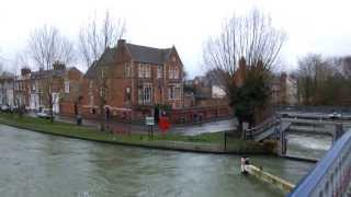 2.OxfordInside. Темза вышла из берегов. Оксфорд. Oxford University.