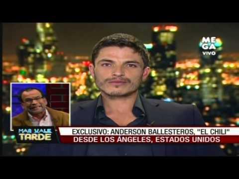 """Anderson Ballesteros, """"El Chili"""", responde a Nelson Ávila y Alfredo Fuentes"""