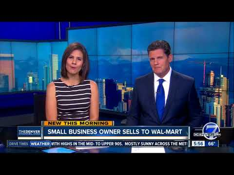 Colorado small business owner sells to Walmart