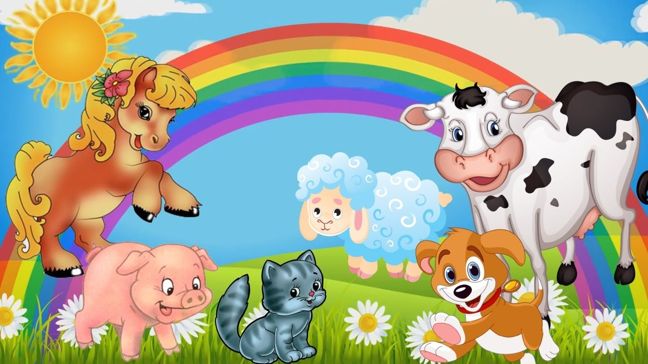 Песенки детские с картинками смотреть онлайн