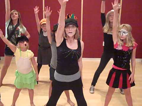 Performance Club Kids Thriller Instruction Video Youtube