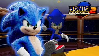 ✪ ¡Movie Sonic en Sonic Adventure! ✪ | Sonic Adventure 2 Mods