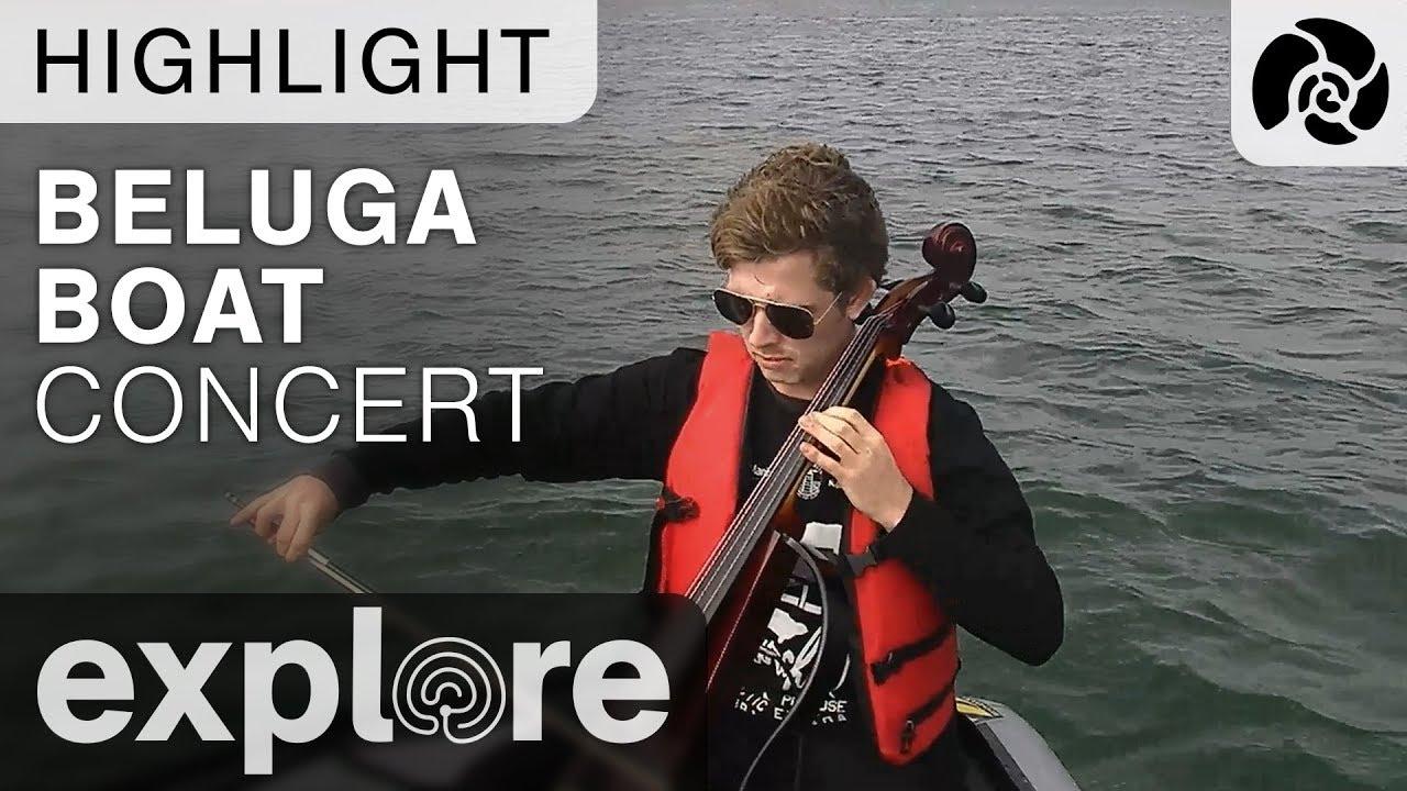 Beluga Boat Concert - Churchill Manitoba
