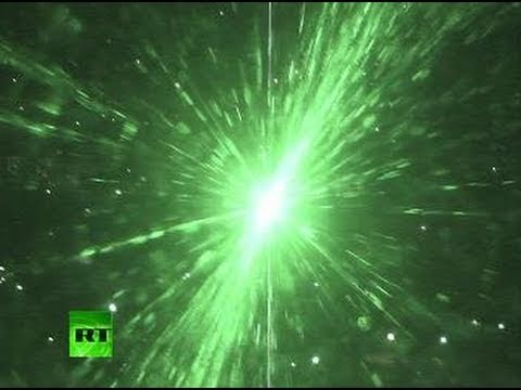'Laser attack' caught on tape: View from plane cockpit