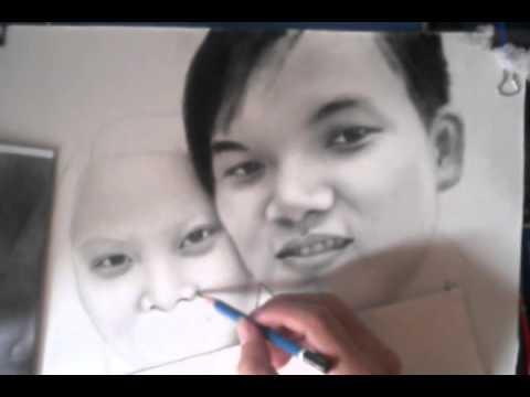 Vẽ chân dung bằng bút chì(5)