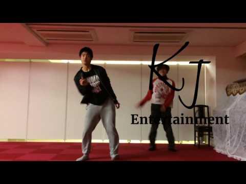 KJE dance studio 新宿「ロックダンス」AKI 基礎練習