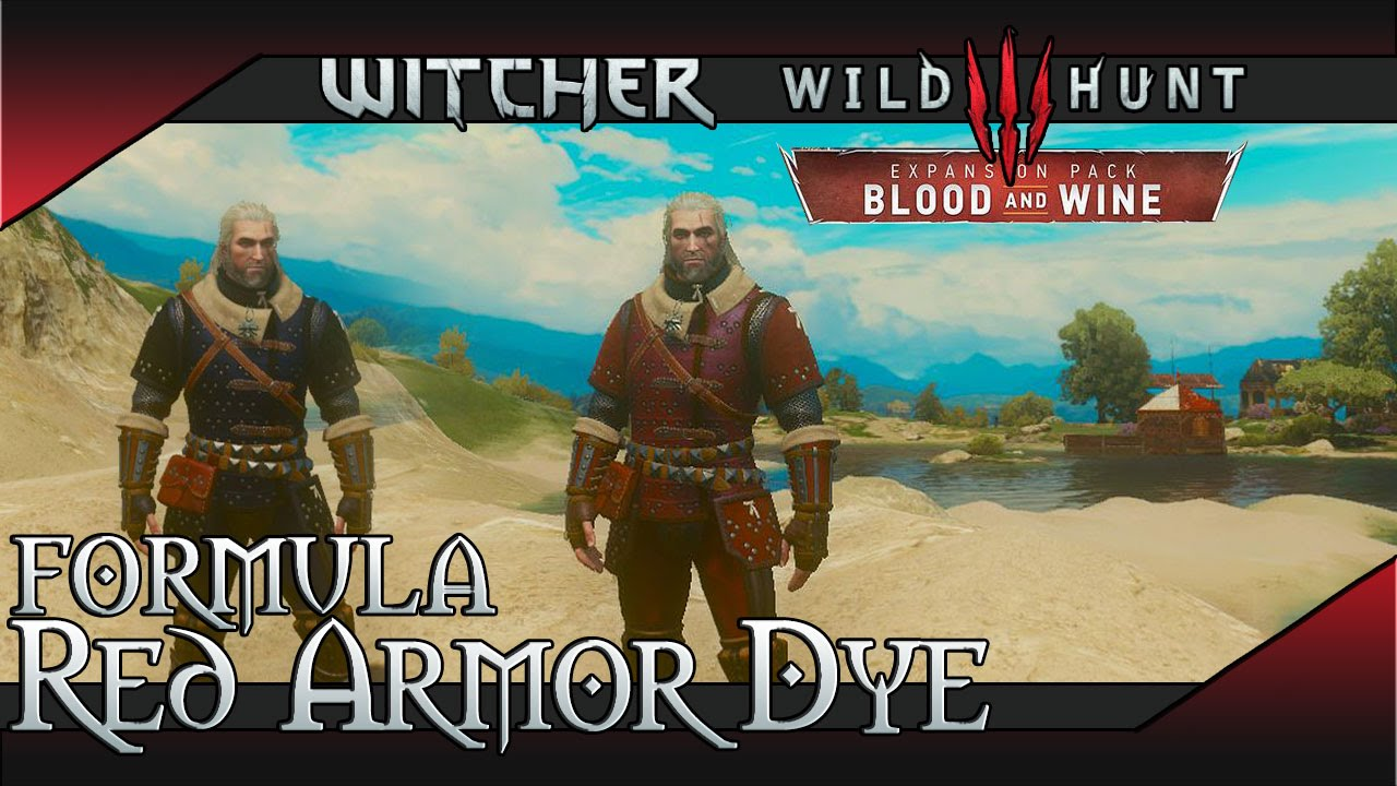 Dyes & Armor Customization | Witcher 3 Blood and Wine