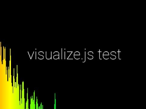 Real-Time HTML5 Music Visualizer