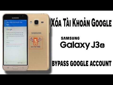 [giaiphapfree] Xóa Tài Khoản Google Samsung J3(2016) - bypass google account samsung j3