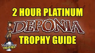 Deponia | Trophy Guide - 2 Hour Platinum! (With Commentary)
