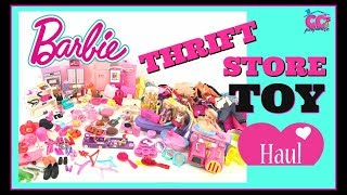 BARBIE Thrift Store Toy HAUL !!!