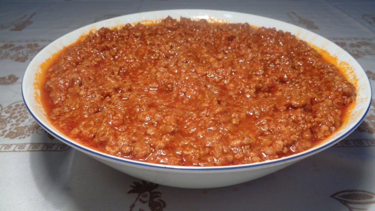 Ricetta Ragu Macinato.Ragu Di Carne Classico Ricetta Perfetta Youtube