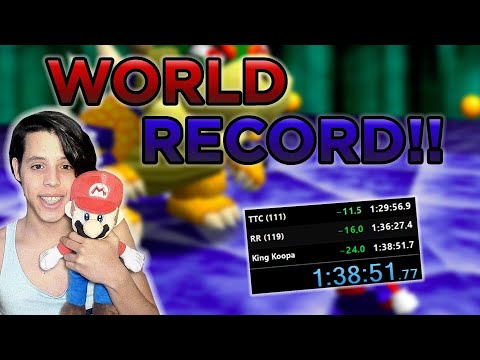 [world-record]-super-mario-64-120-star-speedrun-in-1:38:51