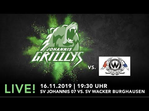 Heimkampf Der Johannis Grizzlys Gegen Den SV Wacker Burghausen