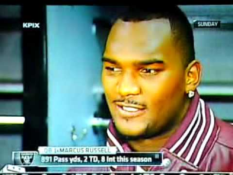 Jamarcus Russell - Not his Fault