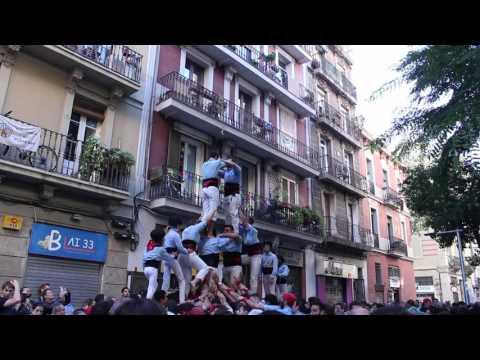 Castellers del Poble Sec - 2d7 PG - Diada de Tardor (15-XI-15)