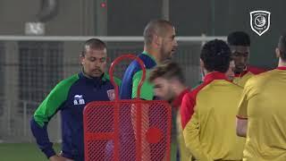 تحضيرات الدحيل تحت 23 سنة لمباراة الحسم أمام العربي في دوري قطر غاز
