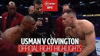 Kamaru Usman v Colby Covington UFC 245 highlights