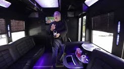 34 Passenger Party Bus with onboard Bathroom