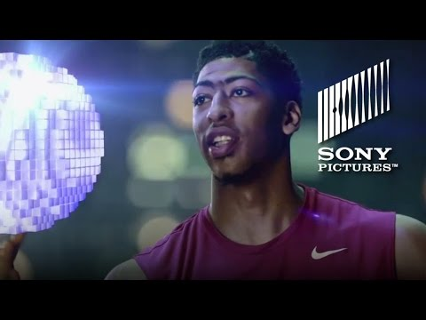 Pixels Movie - Game On: Anthony Davis V. Pac-Man (ESPN Promo #2)